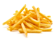 Stack of fries